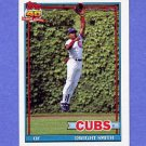 1991 Topps Baseball #463 Dwight Smith - Chicago Cubs