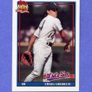 1991 Topps Baseball #446 Craig Grebeck - Chicago White Sox