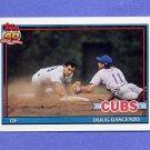 1991 Topps Baseball #437 Doug Dascenzo - Chicago Cubs