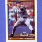 1991 Topps Baseball #436 Scott Bankhead - Seattle Mariners