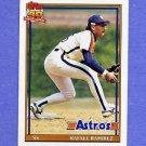 1991 Topps Baseball #423 Rafael Ramirez - Houston Astros