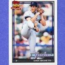1991 Topps Baseball #410 Dave Righetti - New York Yankees