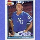 1991 Topps Baseball #371 Jeff Montgomery - Kansas City Royals