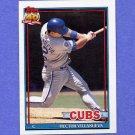 1991 Topps Baseball #362 Hector Villanueva - Chicago Cubs
