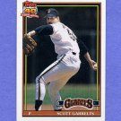 1991 Topps Baseball #361 Scott Garrelts - San Francisco Giants Ex