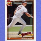 1991 Topps Baseball #358 Mark Parent - San Diego Padres