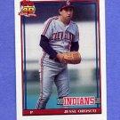 1991 Topps Baseball #346 Jesse Orosco - Cleveland Indians