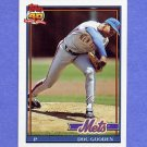 1991 Topps Baseball #330 Dwight Gooden - New York Mets