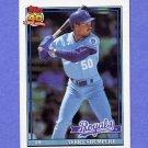 1991 Topps Baseball #322 Terry Shumpert - Kansas City Royals