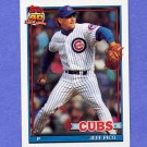 1991 Topps Baseball #311 Jeff Pico - Chicago Cubs