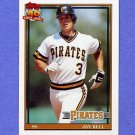 1991 Topps Baseball #293 Jay Bell - Pittsburgh Pirates NM-M