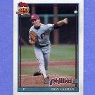 1991 Topps Baseball #282 Don Carman - Philadelphia Phillies