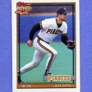 1991 Topps Baseball #272 Jeff King - Pittsburgh Pirates ExMt