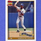 1991 Topps Baseball #260 Harold Reynolds - Seattle Mariners