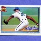 1991 Topps Baseball #248 Tom Gordon - Kansas City Royals NM-M