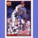 1991 Topps Baseball #246 Kevin Wickander - Cleveland Indians