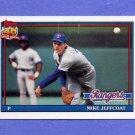 1991 Topps Baseball #244 Mike Jeffcoat - Texas Rangers