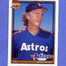 1991 Topps Baseball #215 Dave Smith - Houston Astros