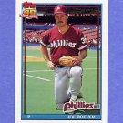 1991 Topps Baseball #159 Joe Boever - Philadelphia Phillies