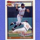 1991 Topps Baseball #145 Lou Whitaker - Detroit Tigers