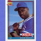 1991 Topps Baseball #135 Jerome Walton - Chicago Cubs