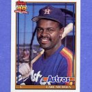 1991 Topps Baseball #119 Carl Nichols - Houston Astros