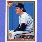 1991 Topps Baseball #104 Don Robinson - San Francisco Giants
