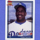 1991 Topps Baseball #099 Chris Gwynn - Los Angeles Dodgers