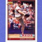 1991 Topps Baseball #092 Danny Jackson - Cincinnati Reds NM-M