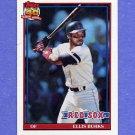 1991 Topps Baseball #070 Ellis Burks - Boston Red Sox
