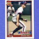 1991 Topps Baseball #036 Donnie Hill - California Angels