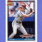 1991 Topps Baseball #015 Von Hayes - Philadelphia Phillies