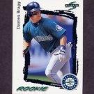 1995 Score Baseball #589 Darren Bragg - Seattle Mariners