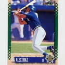 1995 Score Baseball #533 Alex Diaz - Milwaukee Brewers