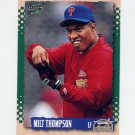 1995 Score Baseball #479 Milt Thompson - Houston Astros