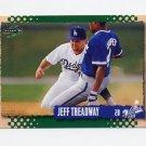1995 Score Baseball #451 Jeff Treadway - Los Angeles Dodgers