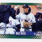 1995 Score Baseball #435 Walt Weiss - Colorado Rockies