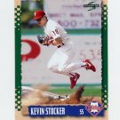 1995 Score Baseball #405 Kevin Stocker - Philadelphia Phillies