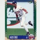1995 Score Baseball #404 Alex Cole - Minnesota Twins