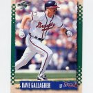 1995 Score Baseball #390 Dave Gallagher - Atlanta Braves