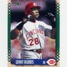 1995 Score Baseball #359 Lenny Harris - Cincinnati Reds