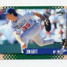 1995 Score Baseball #268 Jim Gott - Los Angeles Dodgers