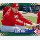 1995 Score Baseball #252 Brian Dorsett - Cincinnati Reds