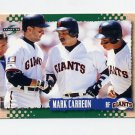 1995 Score Baseball #248 Mark Carreon - San Francisco Giants