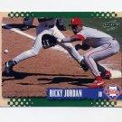 1995 Score Baseball #234 Ricky Jordan - Philadelphia Phillies