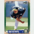 1995 Score Baseball #210 Todd Van Poppel - Oakland A's