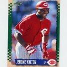 1995 Score Baseball #207 Jerome Walton - Cincinnati Reds