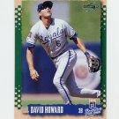 1995 Score Baseball #206 David Howard - Kansas City Royals