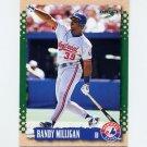 1995 Score Baseball #193 Randy Milligan - Montreal Expos