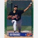 1995 Score Baseball #182 Sid Fernandez - Baltimore Orioles